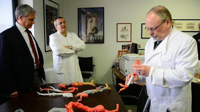 Pavia, patologie dell'aorta curate con tecnica 3D