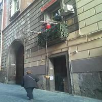 Topolino, il neomelodico che canta sul balcone del centro storico di Napoli