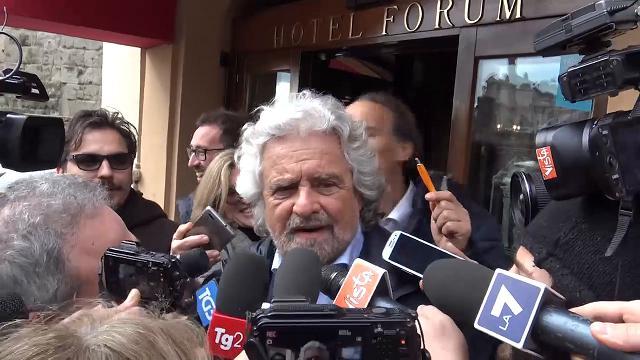 """Stadio Roma, Grillo: """"Raggi darà risposte fra uno o due giorni"""""""