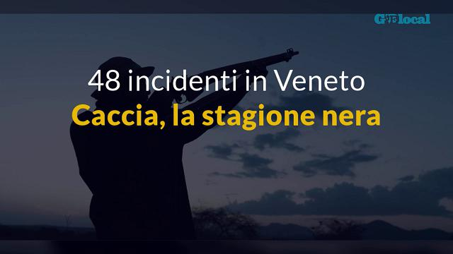 Caccia, in Veneto 48 incidenti