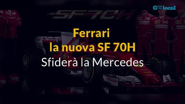 Ecco la nuova Ferrari: si chiama SF 70H