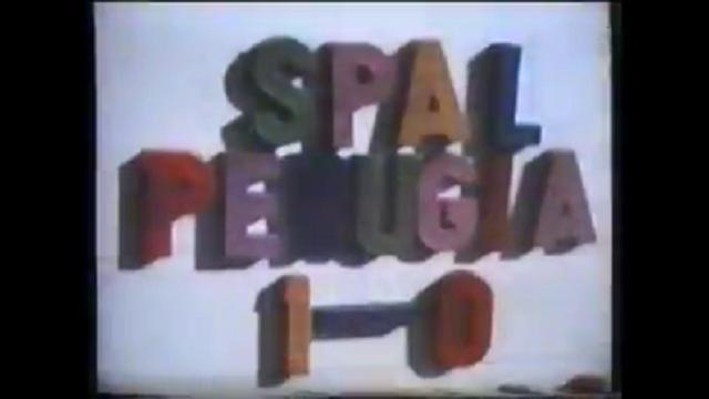 Spal-Perugia 1-0, stagione 1981-'82, gol di Tivelli