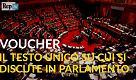Cos'è il testo unico sui voucher sul quale si discute in Parlamento