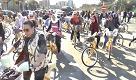 Milano, biciclettata delle donne musulmane per i diritti e contro la violenza