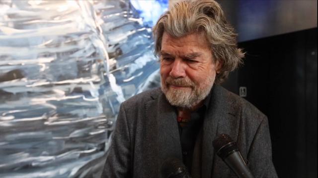 """Bolzano, Messner: """"L'alpinismo non perda il romanticismo"""""""