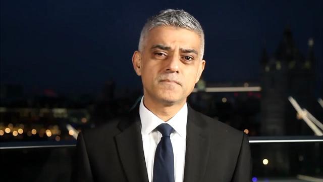 """Il sindaco di Londra Khan: """"Non saremo mai piegati dal terrorismo"""""""