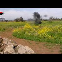 Pensionato trova una bomba a mano nelle campagne di Ghilarza