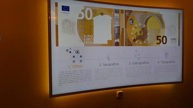 Celebrazioni Ue, la nuova banconota da 50 € in una mostra della Banca d'Italia