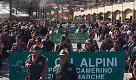 La grande marcia degli alpini a Isola del Gran Sasso