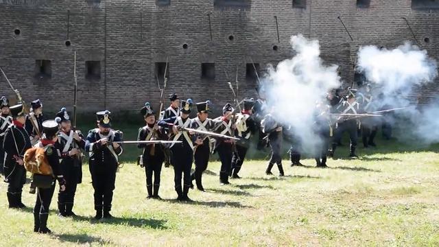 Battaglia napoleonica. Forte Magnaguti a Borgoforte fa il pienone di gente