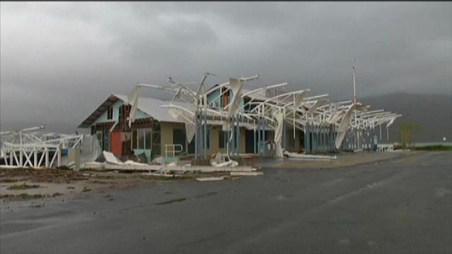Australia: i danni del ciclone Debbie