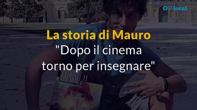 """Feltre, Mauro il cervello in fuga:""""Dopo il cinema torno in Italia per insegnare"""""""