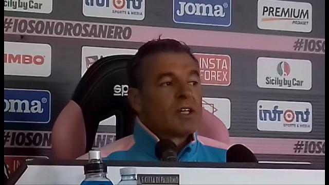 """Palermo, Bortoluzzi: """"Contro la Lazio non partiamo sconfitti"""""""