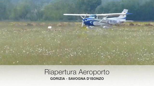 All'aeroporto di Gorizia si torna a volare