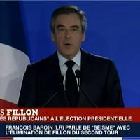 """Elezioni francesi, Fillon: ''Mia la responsabilità della sconfitta. Votate Macron"""""""