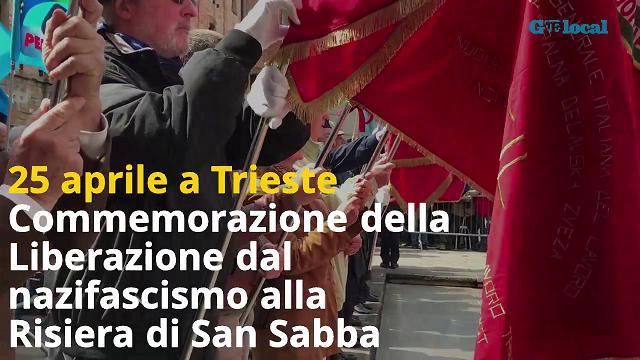 25 aprile a Trieste, la commemorazione della Liberazione alla Risiera