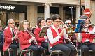 Il concerto della Banda Città di Mantova il 25 Aprile in piazza Mantegna