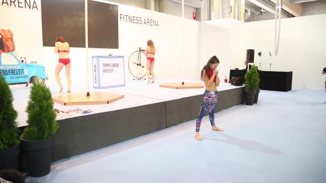 Pole dance: la nuova frontiera del Fitness alla Tempo libero di Bolzano