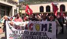 """Ventimiglia, anche Freccero e Petrini in piazza: """"No alla criminalizzazione della solidarietà"""""""