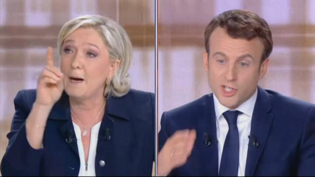 Presidenziali Francia, l'acceso dibattito Macron-Le Pen