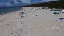 L'isola del Pacifico invasa dalla plastica: trovate 18 tonnellate di rifiuti