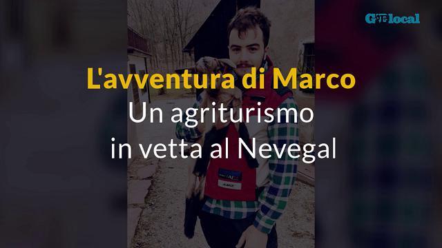 L'avventura di Marco: un agriturismo in vetta al Nevegal