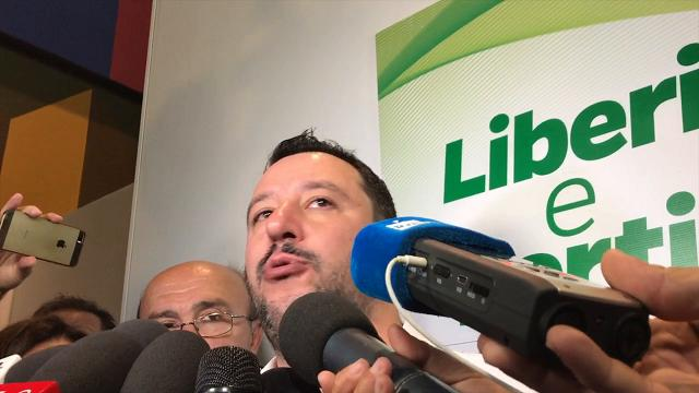 """Congresso Lega a Parma, Salvini: """"Qui possiamo vincere"""""""