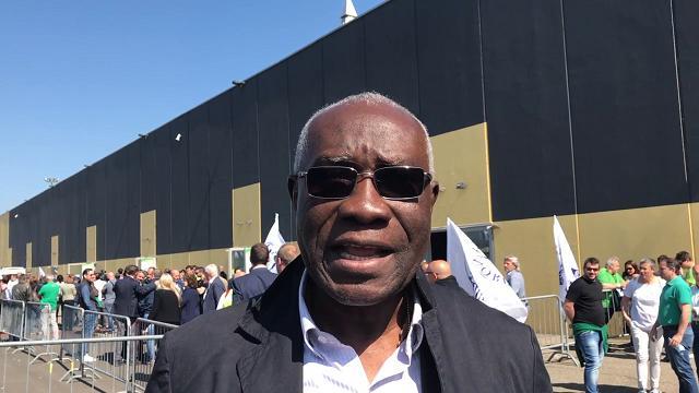 Parma, tra i militanti leghisti al congresso anche il nigeriano Iwobi