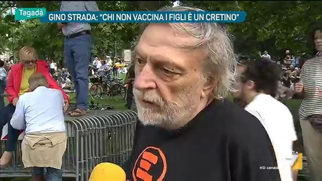 """Gino Strada: """"Chi non vaccina i propri figli è un cretino, un irresponsabile totale"""""""