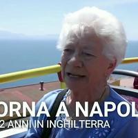 """Torna a Napoli dopo 62 anni: """"Senza parole per l'emozione"""""""