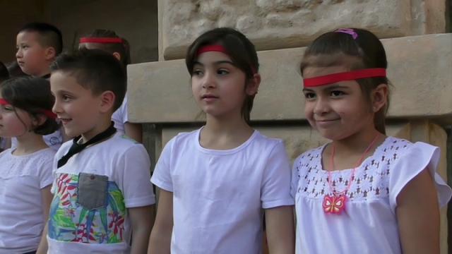 Duecento bambini studiano l'arte a Palazzo Te