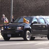 Trump a Roma, traffico bloccato per l'arrivo del presidente Usa in Vaticano