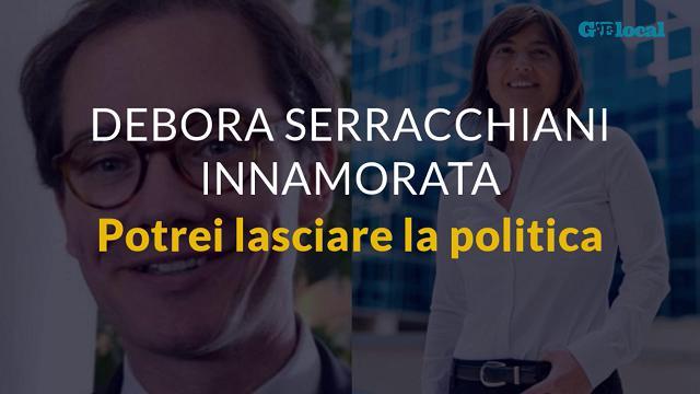 """Debora Serracchiani innamorata: """"Potrei lasciare la politica"""""""