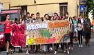Stradella, la marcia della legalità degli studenti del Faravelli