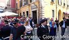 Carrara, Giorgia Meloni contestata dagli anarchici
