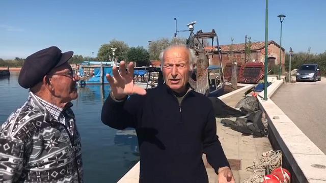 Venetians: Giovanni e la pesca con le sampierote