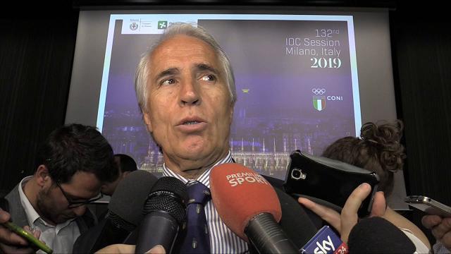"""Malagò: """"Per Cio 2019 è fatta, ma Milano non è pronta per un'Olimpiade"""""""
