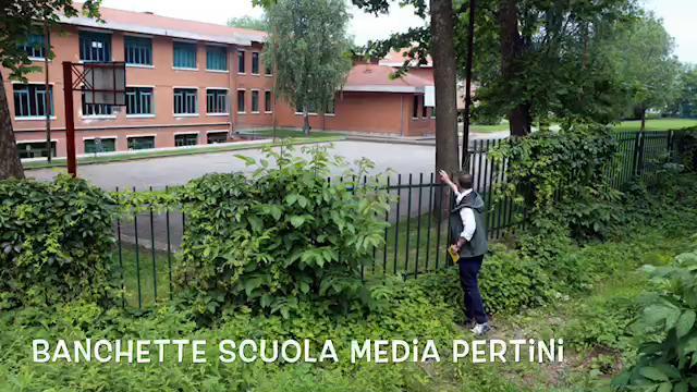 Banchette, la scuola media Pertini dopo i due incendi