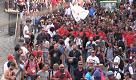 Taormina, gli scontri dall'alto al corteo anti G7
