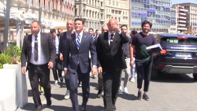 Zanetti a Napoli: