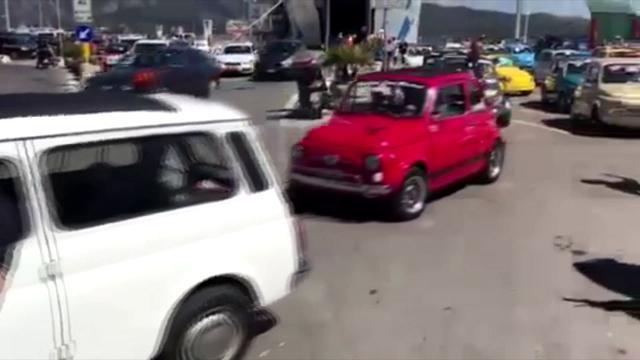 L'isola d'Elba invasa dalle Cinquecento