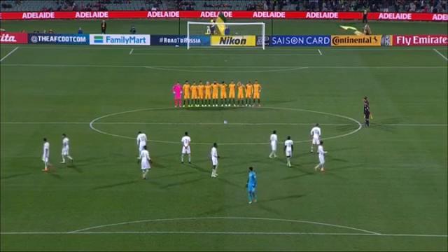 Australia, i giocatori dell'Arabia Saudita non osservano il minuto di silenzio per le vittime di Londra