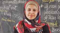 ''Non smettete di sognare e di imparare'': l'impegno di Muzoon, prima rifugiata ambasciatrice Unicef