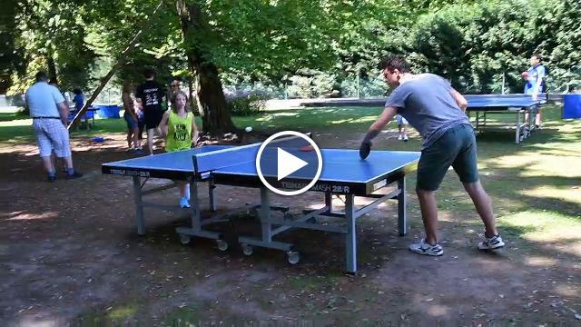I campioni del tennis tavolo sbarcano a parco sigurt - Stefano bosi tennis tavolo ...