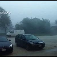 Maltempo, una bufera d'acqua si abbatte sul Friuli