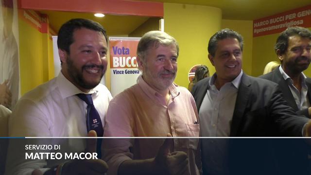 """Alleanze, Salvini: """"Non ho sentito Berlusconi, preferisco parlare con i nuovi sindaci"""""""