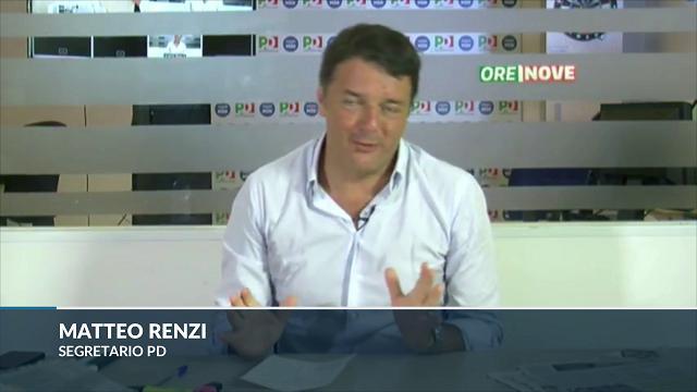 """Ius soli, Renzi: """"Non rinuncio a un'idea per un sondaggio"""""""