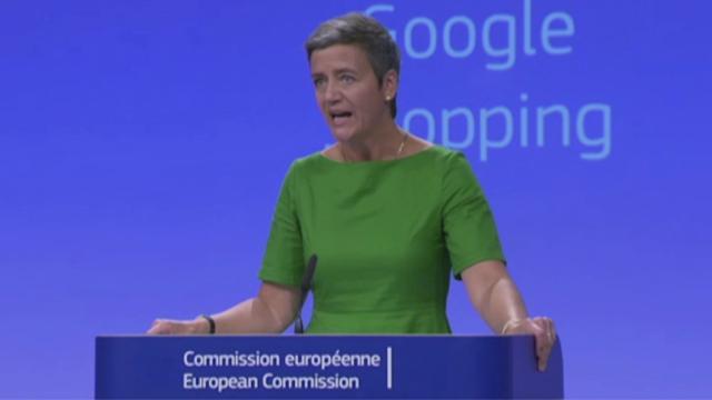 """Google, le motivazioni della maxi multa.  Vestager: """" Ha abusato della sua posizione dominante"""""""