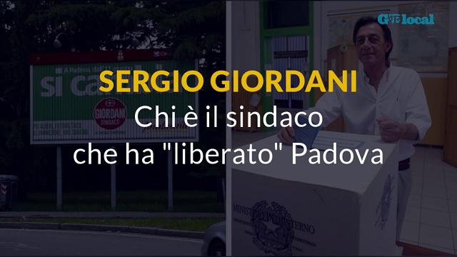 """Sergio Giordani: chi è il sindaco che ha """"liberato"""" Padova"""