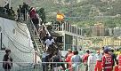 Immigrati: in 1200 arrivati a Salerno su nave spagnola